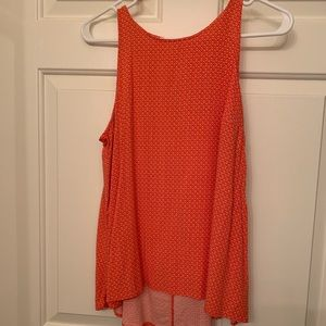 High neck dressy tank top
